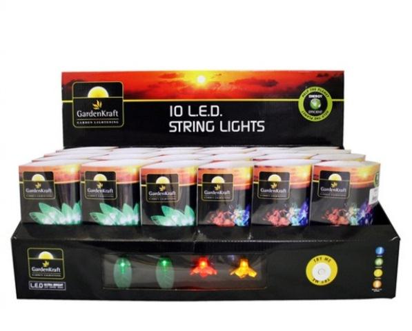 10 led blumen lichterkette 13 99. Black Bedroom Furniture Sets. Home Design Ideas