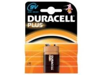 Duracell Plus 9 Volt Batterie (2er-Packung)