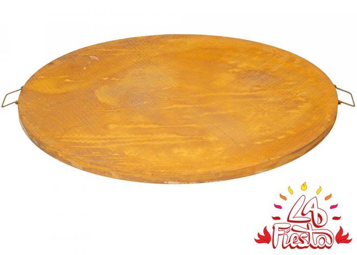 Deckel Abdeckung Fur 75cm Feuerschale Rostoptik La Fiesta 39 99