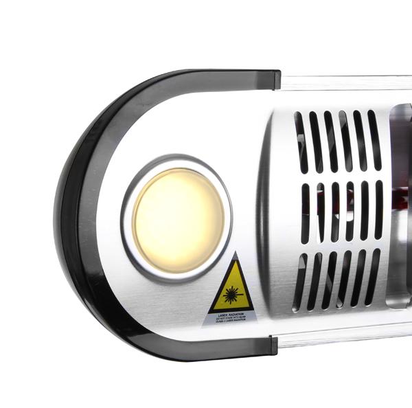 watt firefly infrarot heizstrahler halogen freistehend oder wandmontage inkl led. Black Bedroom Furniture Sets. Home Design Ideas