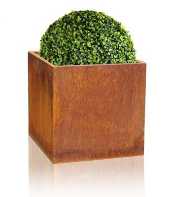 Blumenkübel aus Cortenstahl, 50cm x 50cm x 50cm 159,99 €