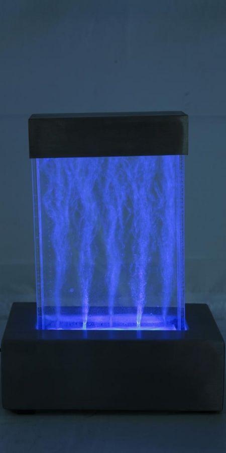 sprudelnder tischbrunnen nebula mit led beleuchtung 69 99. Black Bedroom Furniture Sets. Home Design Ideas