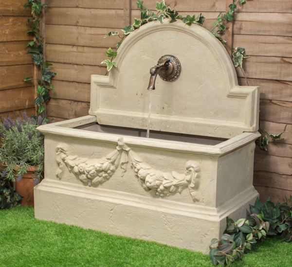 104cm gartenbrunnen lorca mit wasserhahn ambient 459 99. Black Bedroom Furniture Sets. Home Design Ideas