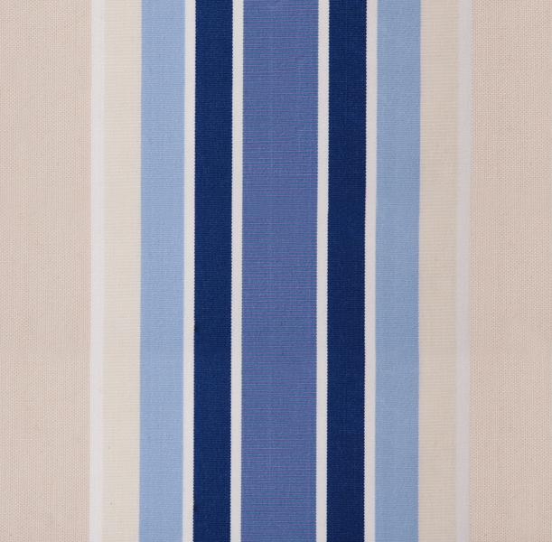 ersatzstoff inkl volant f r 1 5m x 1m markisen blau gestreift 54 99. Black Bedroom Furniture Sets. Home Design Ideas
