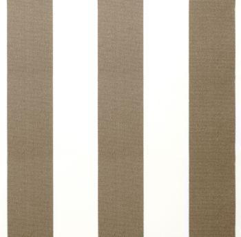 ersatzstoff inkl volant f r 2m x 1 5m markisen mocha und wei gestreift 59 99. Black Bedroom Furniture Sets. Home Design Ideas