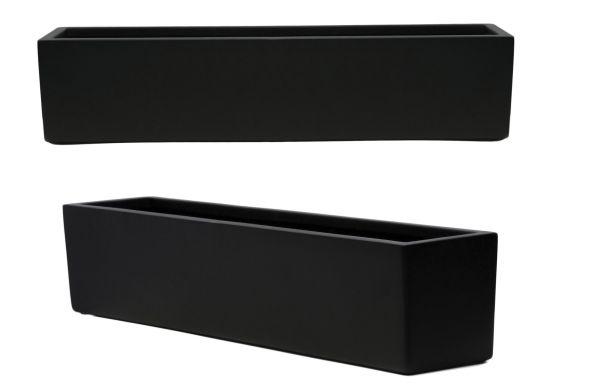 blumenkasten f r die fensterbank matt schwarz primrose 37 99. Black Bedroom Furniture Sets. Home Design Ideas
