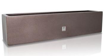 blumenkasten f r fensterbank graphitbraun 18cm x 76cm x 17cm primrose 36 99. Black Bedroom Furniture Sets. Home Design Ideas