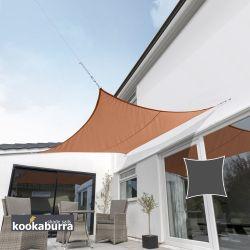 kookaburra sonnensegel atmungsaktive sonnensegel. Black Bedroom Furniture Sets. Home Design Ideas