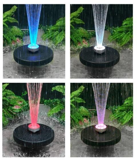 solar garten fontäne