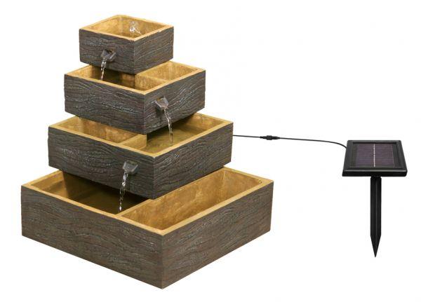 bepflanzbarer solarbrunnen dalton 129 99. Black Bedroom Furniture Sets. Home Design Ideas
