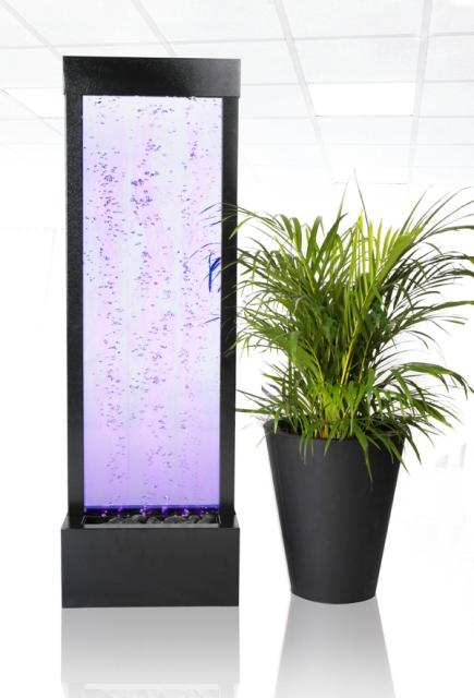 122cm sprudelnde wasserwand mit led beleuchtung f r innen und au enbereich 259 99. Black Bedroom Furniture Sets. Home Design Ideas